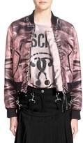 Moschino Women's Print Bomber Jacket