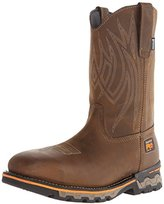 Timberland Men's AG Boss Pull-On Alloy Square-Toe Work and Hunt Boot