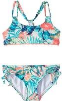 Roxy Kids Girls' Jungle Poem Athletic Bikini Set (716) - 8156770