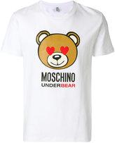 Moschino heart eye Underbear T-shirt