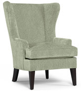 Martha Stewart Collection Saybridge Fabric Living Room Accent Wing Chair: Custom Colors