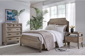 Kosas Home Emily Hand Crafted Solid Wood Bed