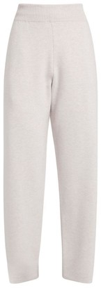 Barrie High-Waist Cropped Sweatpants