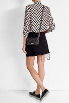Karl Lagerfeld K Klassik Super Mini Leather Shoulder Bag