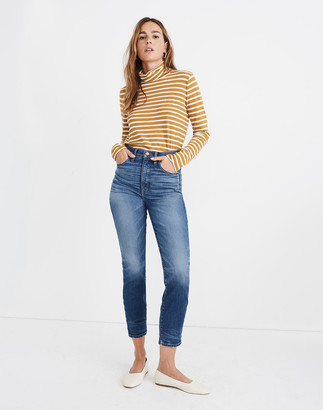 Madewell Rivet & Thread Perfect Vintage Crop Jeans in Clarkdale Wash
