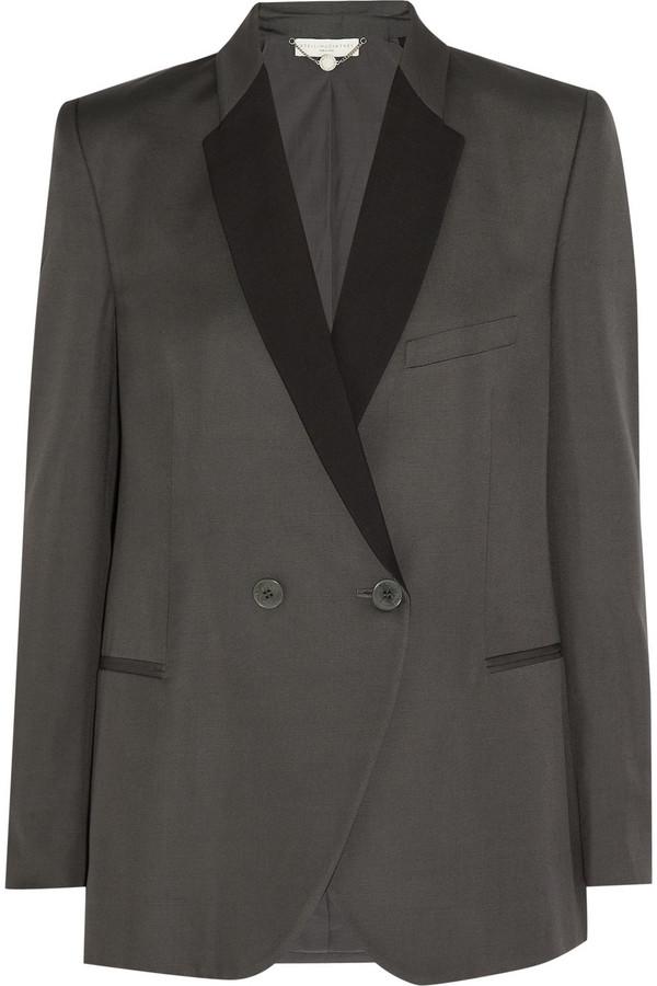 Stella McCartney Slub-twill blazer