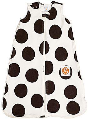 JCPenney Gunamuna Gunapod Dot Bamboo Cotton Wearable Blanket - Chocolate