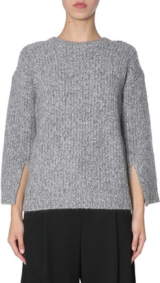 Michael Kors Michael By michael by sweater with slits on sleeves