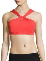 Michael Kors Halterneck Beaded Bikini Top