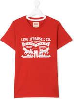 Levi's Kids TEEN printed logo T-shirt