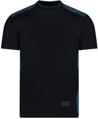 Prada Contrasting Paneled T-Shirt