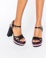 Tommy Hilfiger Gigi Hadid Platform Heeled Sandals