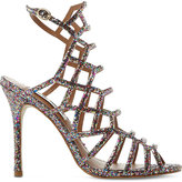 Steve Madden Caged glitter heeled sandals