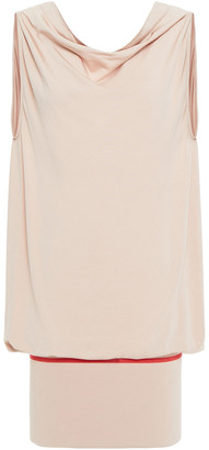 Wolford Rich Lax Draped Stretch-jersey Tunic