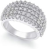 Macy's Diamond Band (2 ct. t.w.) in 14k White Gold
