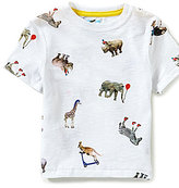Class Club Adventure Wear by Little Boys 2T-6 Animal Graphic Short-Sleeve Tee