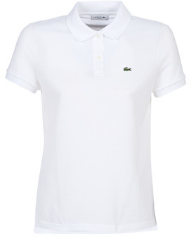 Lacoste PF7839 women's Polo shirt in White