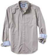 Banana Republic Camden-Fit Custom Wash Texture Dobby Solid Shirt