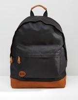 Mi-Pac Classic Contrast Backpack In Black