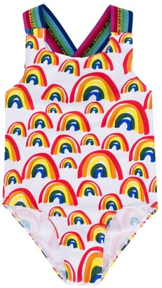 Stella McCartney Rainbow Print Swimsuit