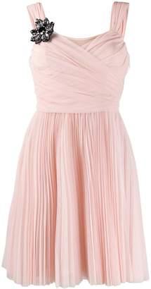 Pinko pleated tulle dress