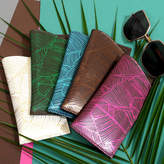 Undercover Tropical Leather Glasses Case