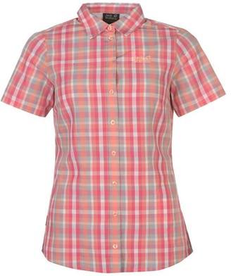 Jack Wolfskin Hot Fairfo Short Sleeved Shirt Ladies