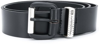Diesel Logo Plaque Belt