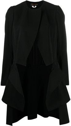 Comme des Garcons Tiered Longline Jacket