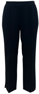 Alfani Plus Size Pull-On Straight-Leg Ankle Pants