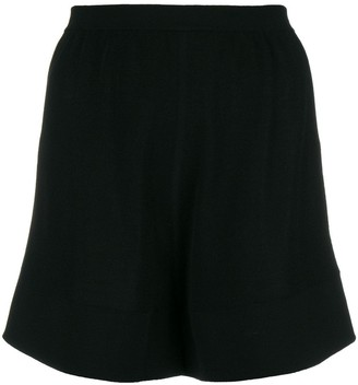 Rick Owens High-Waisted Shorts