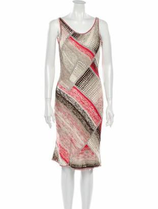 Oscar de la Renta 2012 Midi Length Dress