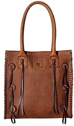 Sts Ranchwear STS Ranchwear Large Chaps Satchel (Brown) Handbags