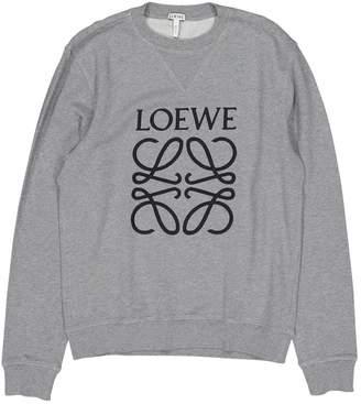 Loewe Grey Cotton Knitwear