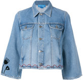 MiH Jeans Arch Denim Jacket customised by Conie Vallese