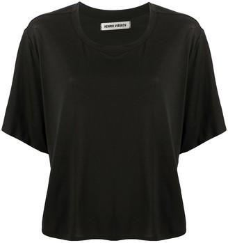 Henrik Vibskov loose fit side slit detail T-shirt