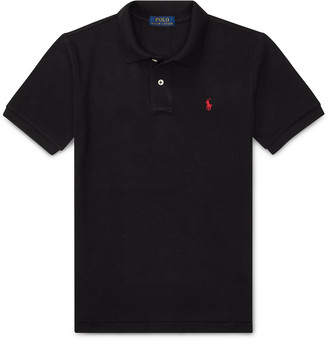 Ralph Lauren Kids Short-Sleeve Logo Embroidery Polo Shirt, Size S-XL