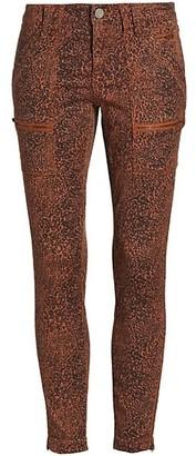 Joie Park Printed Skinny Pants