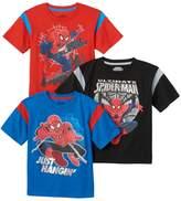 Marvel Toddler Boy 3-pk. Spider-Man Tees