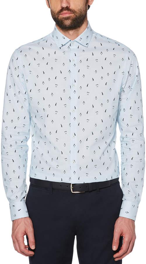 7c14f56e5 Penguin Print Shirt - ShopStyle
