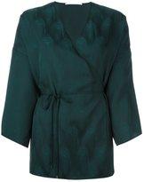 Rosetta Getty wrap kimono blouse - women - Viscose - 10