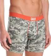 Saxx AXX Vibe Men Underwear Boxer Brief, No Fly, Modern Fit, 5 Inch Ineam