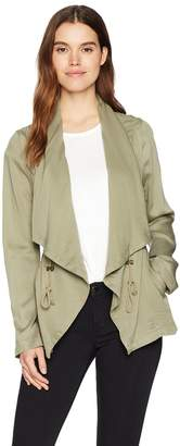 Bagatelle Women's Lyocell Drape Jacket