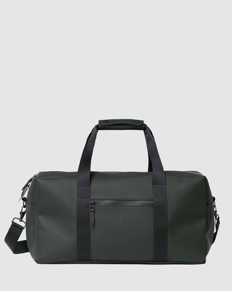 Rains Green Duffle Bags - Gym Bag - Size One Size at The Iconic