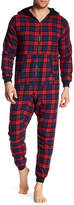 Bottoms Out Flannel Pajama Jumpsuit