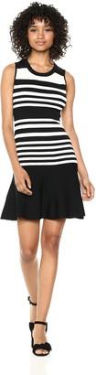 Parker Women's Penny sleevele Striped Knit Dress