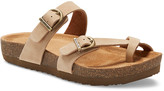 Eastland Women's Sandals SAND - Sand Tiogo Leather Sandal - Women