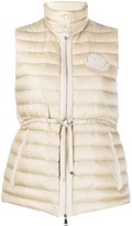 Moncler quilted fitted gilet