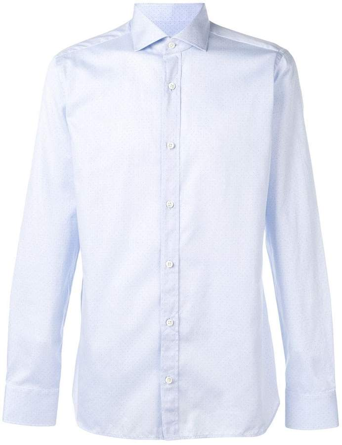 Ermenegildo Zegna micro dot shirt