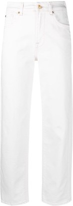 7 For All Mankind The Modern Straight Cloud jeans